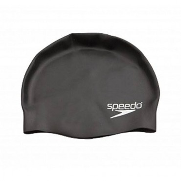 Шапочка для плавания Speedo Plain moulded silicone cap (детская)