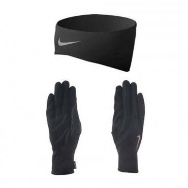 Сет беговой Nike Running Dri-Fit headband/gloves set SS13 (женский)