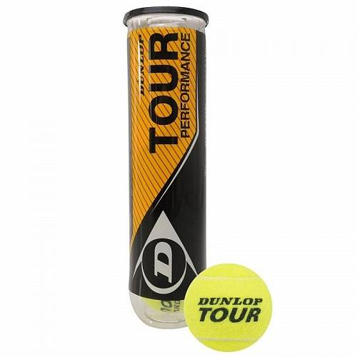 Мяч теннисный Dunlop Tour Performance 4B