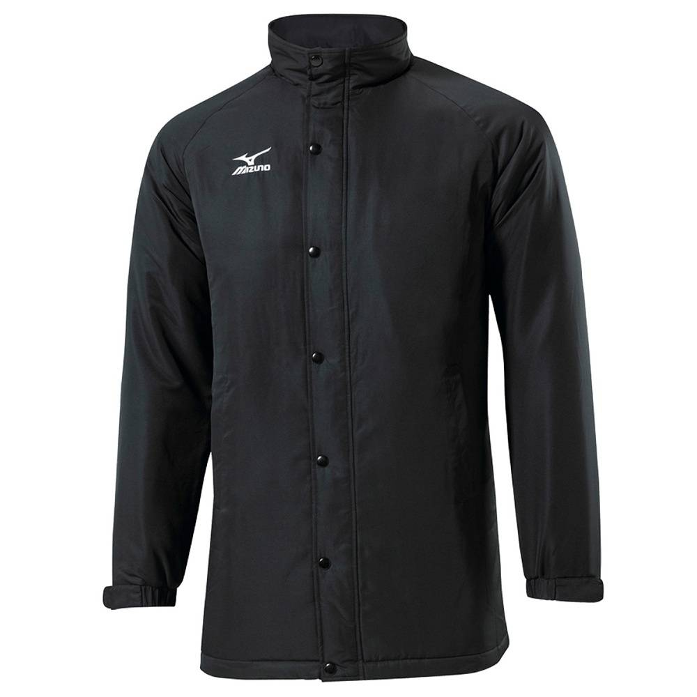 Куртка Mizuno Team training field jacket черный - белый 60WS170