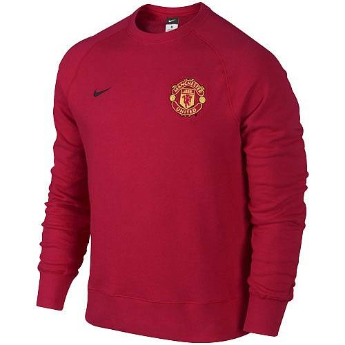 Толстовка Nike AW77 Manu authentic ls crew AW13