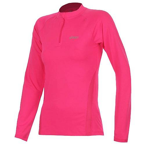 Рубашка беговая Asics Vesta long sleeve 1/2 zip AW13 (женская)