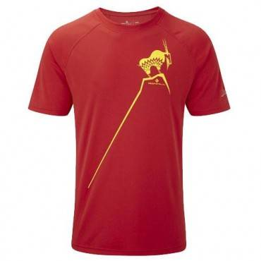Футболка беговая Ronhill Trail mountain goat tee