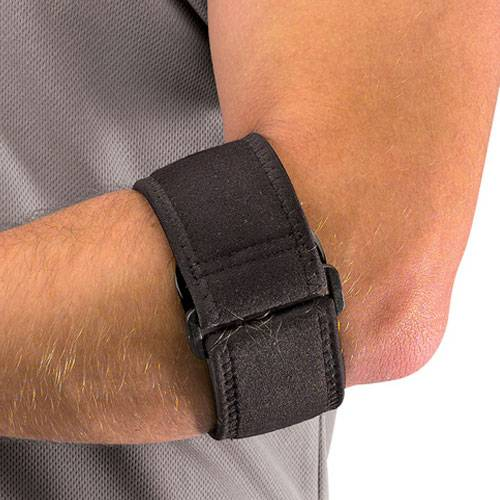 Повязка на локоть Mueller Tennis Elbow Support 819 черный - -