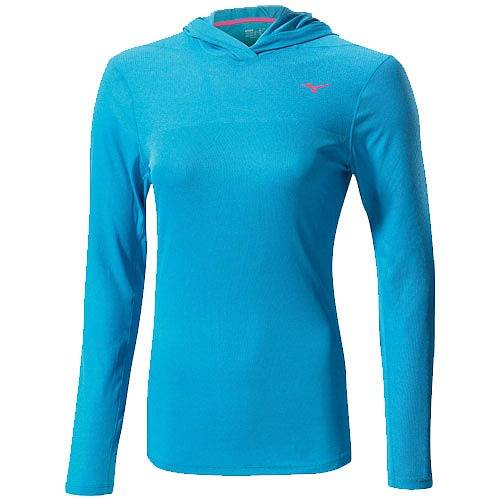 Рубашка беговая Mizuno Breath Thermo Hoody AW14 (женская)