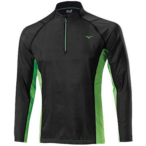 Рубашка беговая Mizuno Breath Thermo WindTop AW14