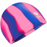Шапочка для плавания Tyr Multi-Color Silicone Cap