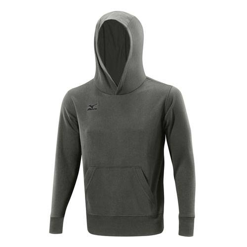 Толстовка Mizuno Hooded Sweat 502 AW14 серый - - K2EC4502