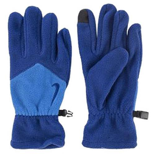Перчатки Nike Sport Fleece Tech Gloves синий - голубой NWGC3