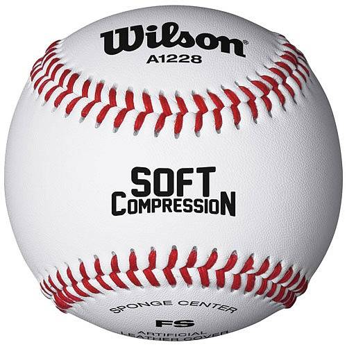 Мяч бейсбольный Wilson Soft Compression Baseball