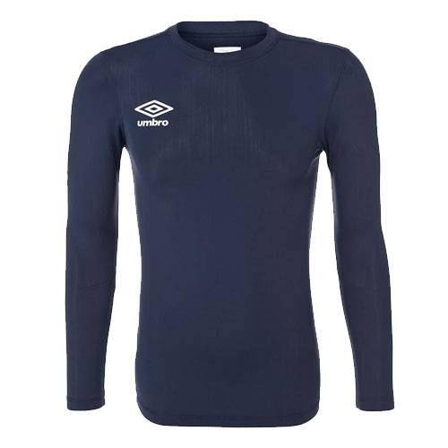 Футболка Umbro FW LS Crew Base Layer темно-синий - - 697785