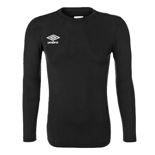 Футболка Umbro FW LS Crew Base Layer черный - - 697785
