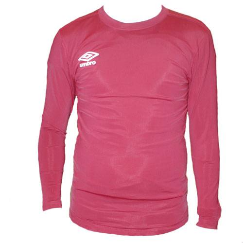 Футболка Umbro FW LS Crew Base Layer бордовый - - 697785