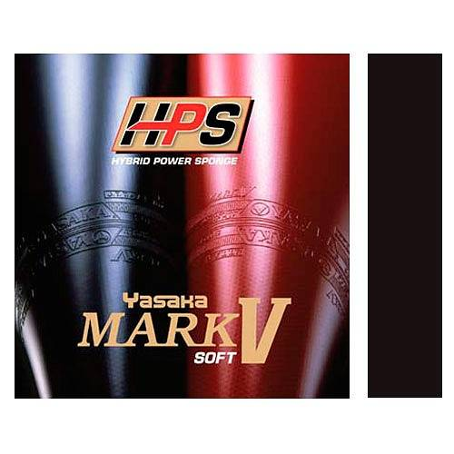 Накладка Yasaka Mark V HPS Soft, черный цвет, max размер