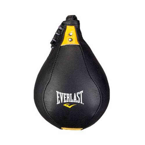 Груша Everlast Kangaroo Leather Speed Bag черный - - 221001, 220901