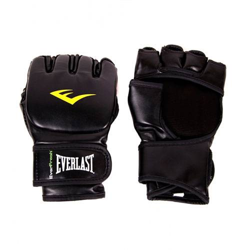 Перчатки MMA Everlast Martial Arts Grappling черный - - 7560