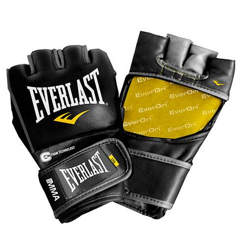 Перчатки MMA Everlast Professional Fight черный - - 7674
