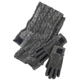 Набор шарф и перчатки Nike Jordan Heathered Scarf and Glove Set