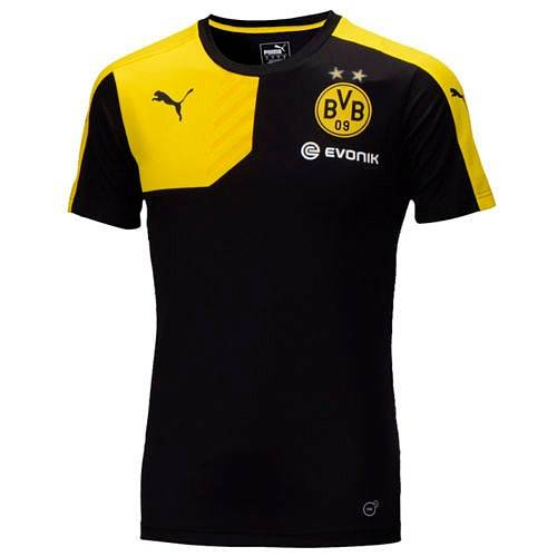 Футболка игровая Puma BVB Training Jersey with Sponsor