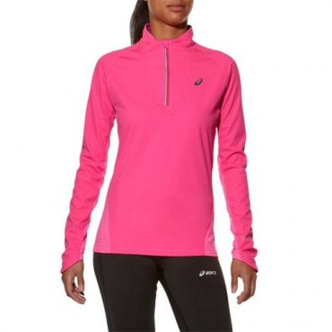 Рубашка беговая Asics Long Sleeve Windblock 1/2 Zip (женская)