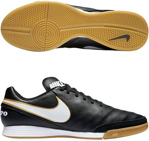 Бутсы футзальные Nike Tiempo Genio II Leather IC