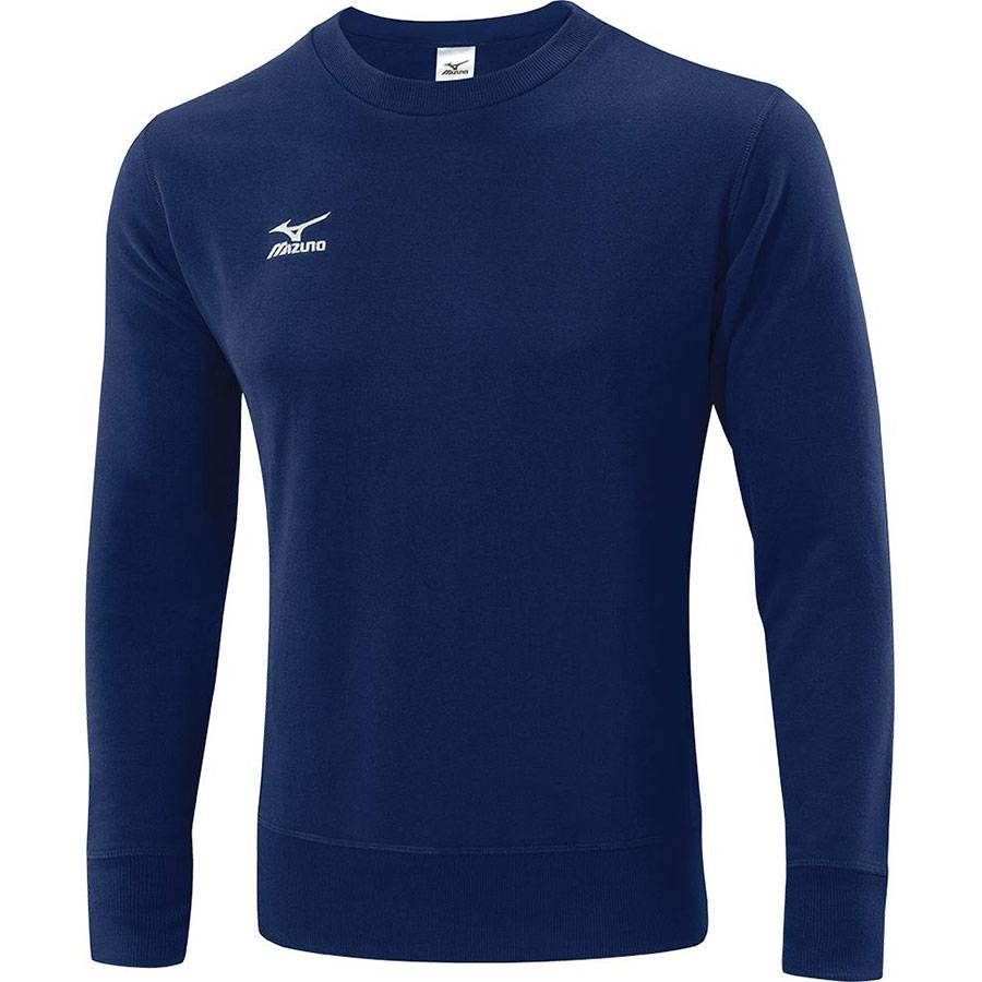 Толстовка Mizuno Sweat 501 синий - - K2EC4501M