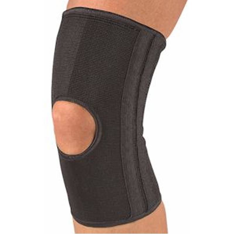 Бандаж на колено Mueller Knee Stabilizer Elastic Open Patella черный - - 427