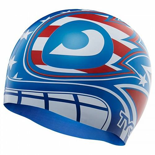 фото Шапочка для плавания Tyr The Masked Liberator Swim Cap артикул: LCSTML-636