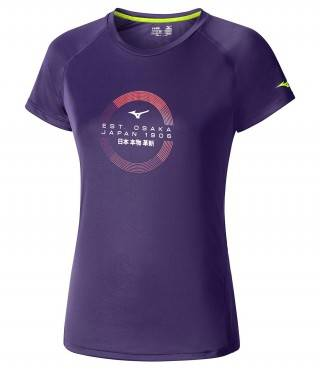 Футболка беговая Mizuno Transform Tee (женская)