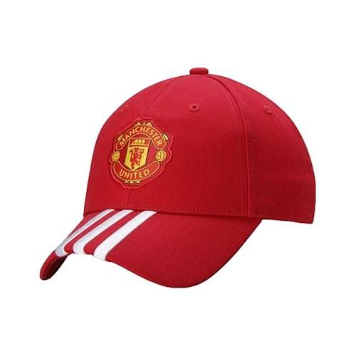Бейсболка Adidas Manchester United 3 Stripes Cap