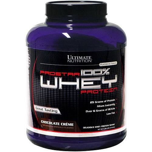 фото Протеин Ultimate Nutrition Prostar Whey 2390 гр артикул: Prostar-Whey-малина