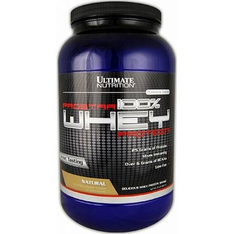 Протеин Ultimate Nutrition Prostar Whey 907 гр