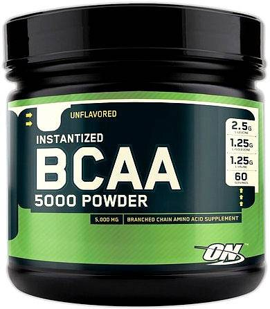 BCAA Optimum Nutrition BCAA 5000 Powder 380 гр
