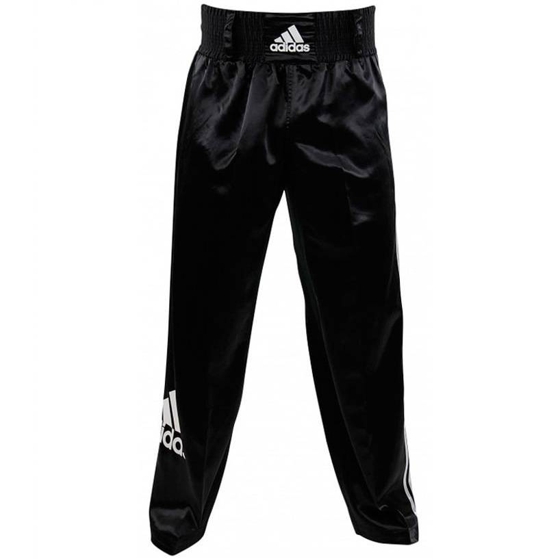 Брюки для кикбоксинга Adidas Pants Kickboxing Full Contact черный - - adiPFC03