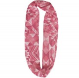 Шарф-снуд Buff Infinity Cotton Jacquard Tribe Pink