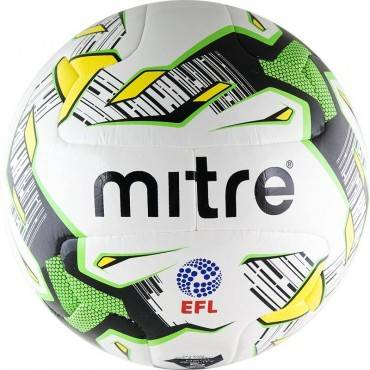Мяч футбольный Mitre Delta Match EFL Hyperseam