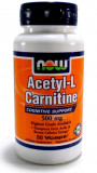 L-карнитин NOW Acetyl L-Carnitine 500 мг 50 капсул