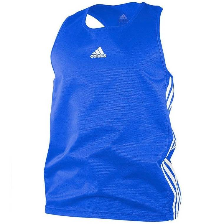 Майка боксерская Adidas Micro Diamond Boxing Top синий - - adiBTT01
