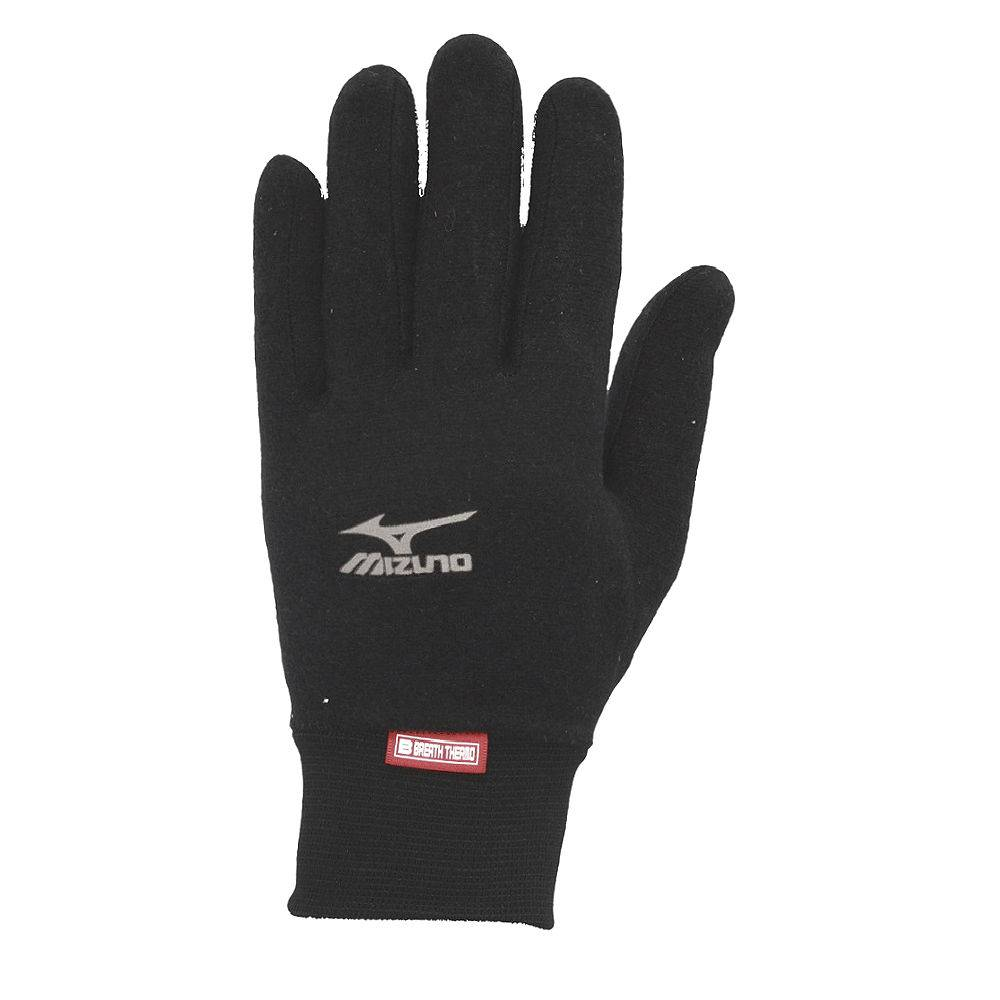 Перчатки Mizuno BT Middle Weight Fleece Glove черный - - 73XBK262C1