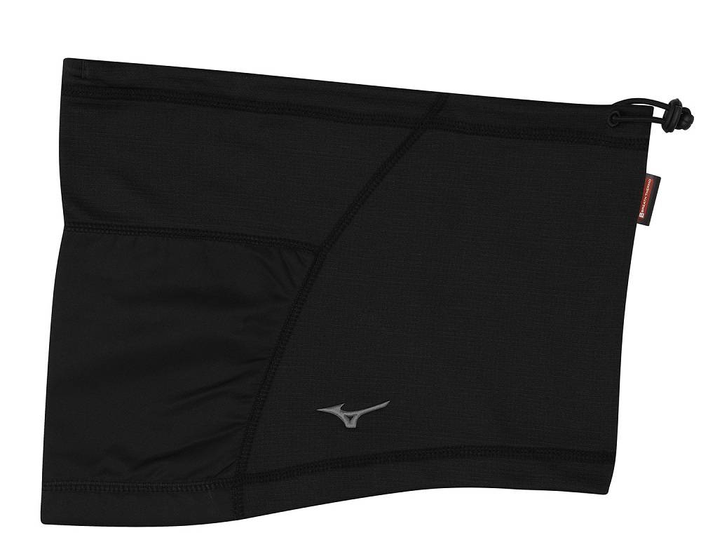 Шарф-труба Mizuno BT Fleece Running Neck Warmer черный - - A2GY55811