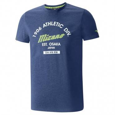 Футболка беговая Mizuno Authentic Tee