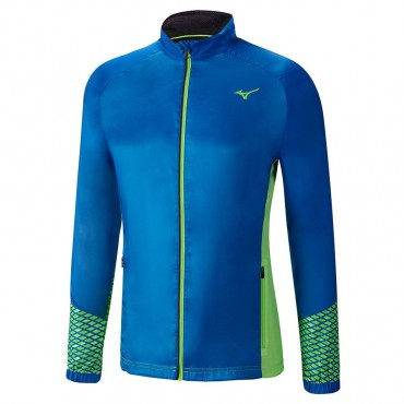 Ветровка беговая Mizuno Breath Thermo Jacket J2GE6513