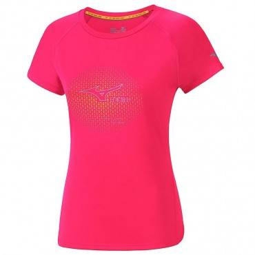 Футболка беговая Mizuno Core Graphic Tee J2GA7209 (женская)