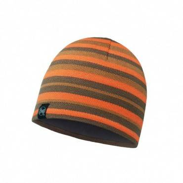 Шапка Buff Hat Knitted and Polar Laki Stripes Fossil