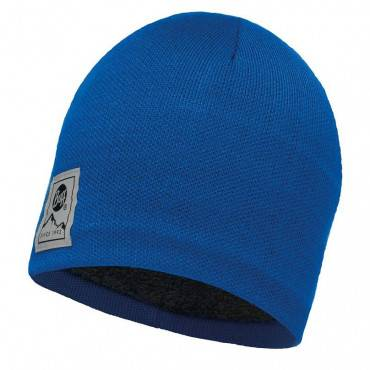 Шапка Buff Hat Knitted and Polar Solid Blue Skydiver