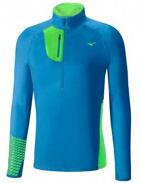 Рубашка беговая Mizuno Breath Thermo Premium Windtop