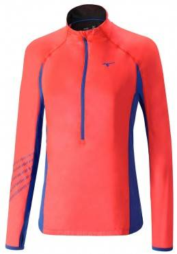 Рубашка беговая Mizuno Breath Thermo Premium Windtop (женская)