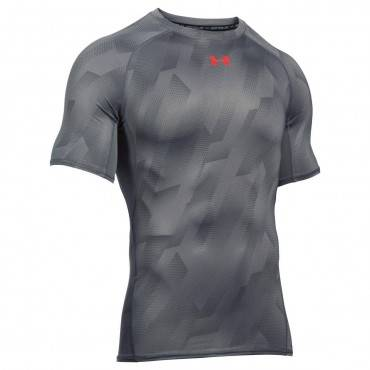 Футболка компрессионная Under Armour HeatGear Printed SS Compression Tee