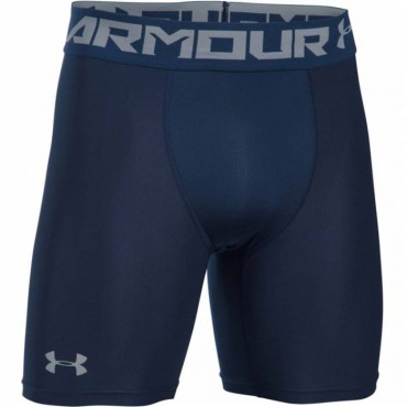 Тайтсы беговые Under Armour HeatGear Armor Mid Shorts