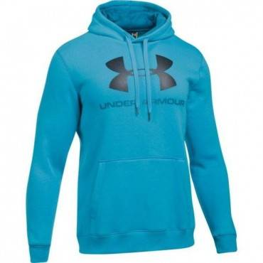 Толстовка Under Armour Rival Fleece Fitted Graphic Hoodie